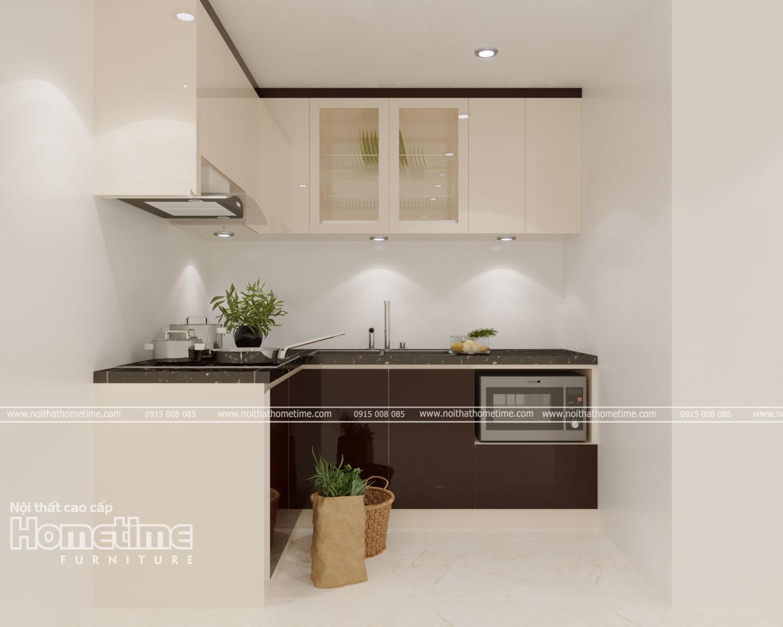 Tủ bếp với đầy đủ công năng tiện ích nhất cho gia đình