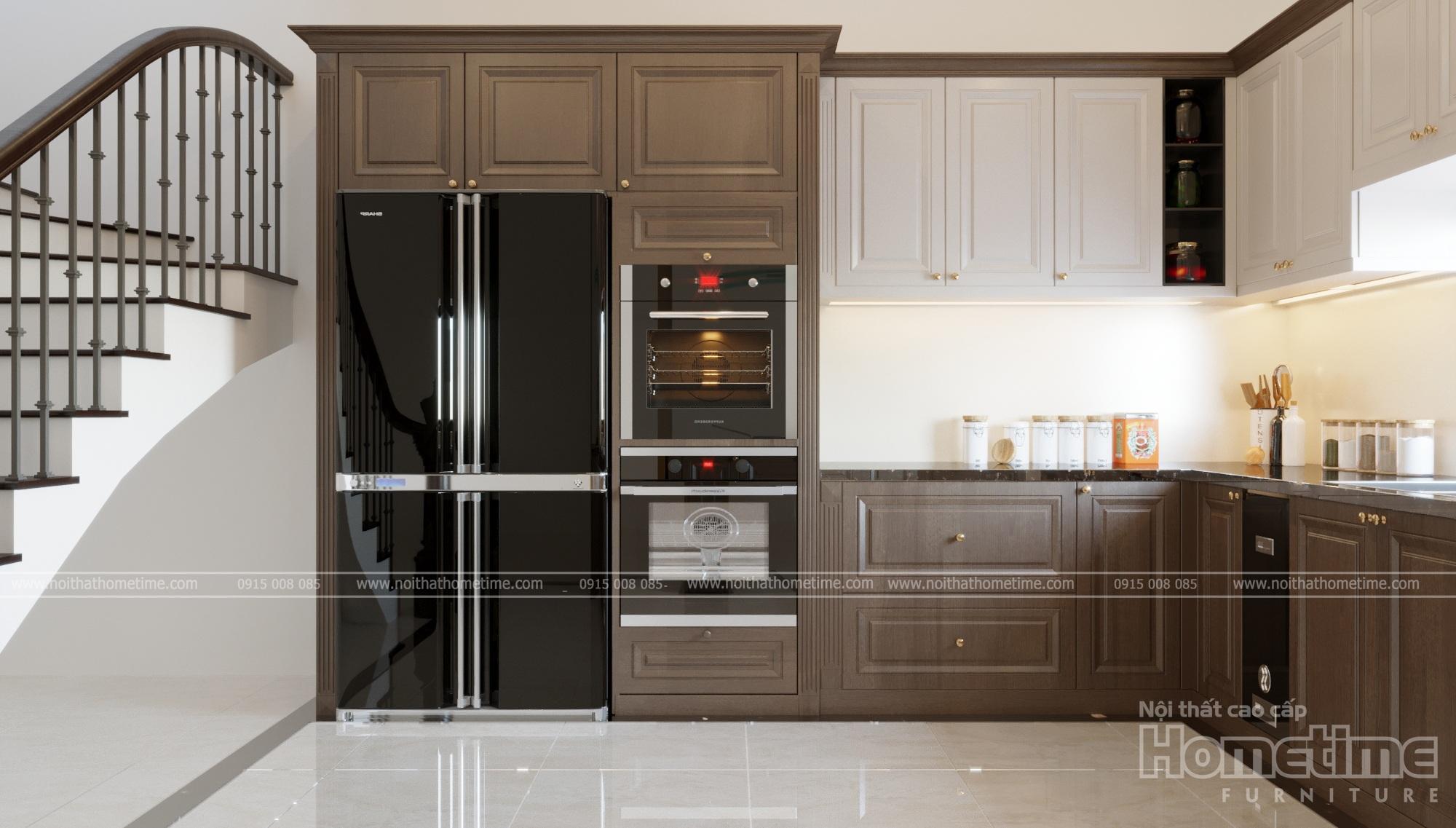 Một góc nhìn của tủ bếp